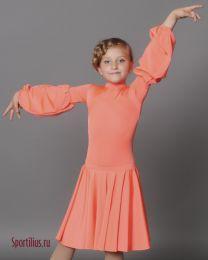 Платье, рукав фонарик