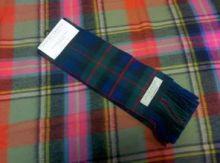 шарф 100% шерсть ягнёнка , расцветка клана Мюррэй из Атолла