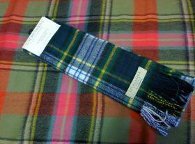 шарф 100% шерсть , расцветка королевский клан Гордон (парадный вариант)