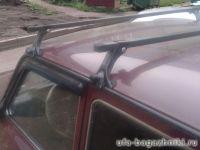 Багажник на крышу ВАЗ-2121, ВАЗ-2131 (Нива), стальные прямоугольные дуги, Евродеталь