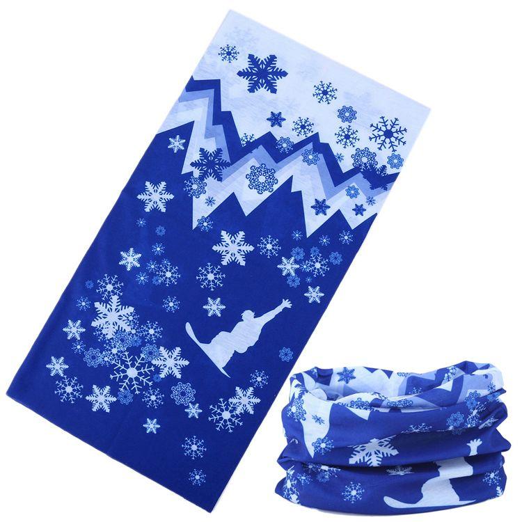 "Мультибандана ""Сноуборд-2"" синяя"