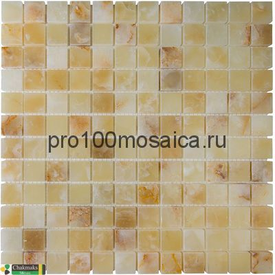 LIGHT HONEY ONYX 23х23. Мозаика Anatolian Stone, 305*305 мм (CHAKMAKS)