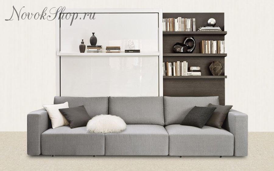 Шкаф-диван-кровать трансформер ATOM