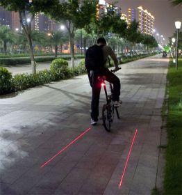 Лазерный проектор для велосипеда