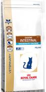 Royal Canin GASTRO INTESTINAL MODERATE CALORIE GIM35 - Диета для кошек при нарушении пищеварения с умеренным содержанием энергии (400 г)