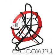 "Устройство протяжки кабеля ""Мини УЗК"" в стойке на вращающемся барабане 150 метров"