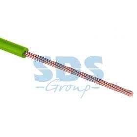 Провод монтажный (автомобильный) 1.5 мм2 100м зеленый (ПГВА) REXANT