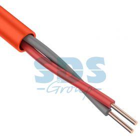Кабель сигнальный КПСнг(А)-FRLS 1x2x0,75мм² (1,0мм), 200М ГОСТ Р 53315-2009 REXANT