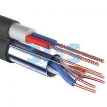 Мульти-кабель FTP 4PR 24AWG CAT5e + 2х0.75мм., 200м., черный, OUTDOOR REXANT