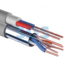 Мульти-кабель FTP 2PR 24AWG CAT5e + 2х0.75мм., 200м., серый REXANT