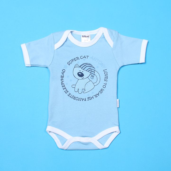 Боди для новорожденного Котенок