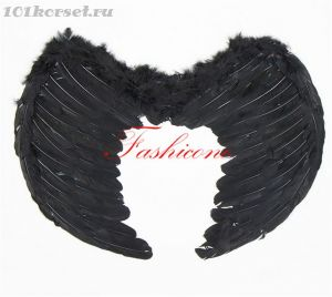 Крылья черного ангела средние