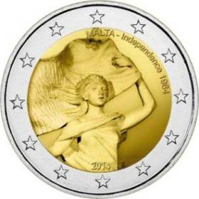 50 лет независимости (1964-2014) 2 евро Мальта 2014