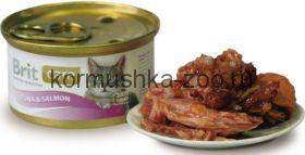 Brit консервы для кошек тунец/лосось