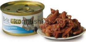 Brit консервы для кошек тунец/идейка