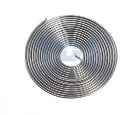 Припой с канифолью ПОС-61 Ø0.8мм спираль 1метр REXANT