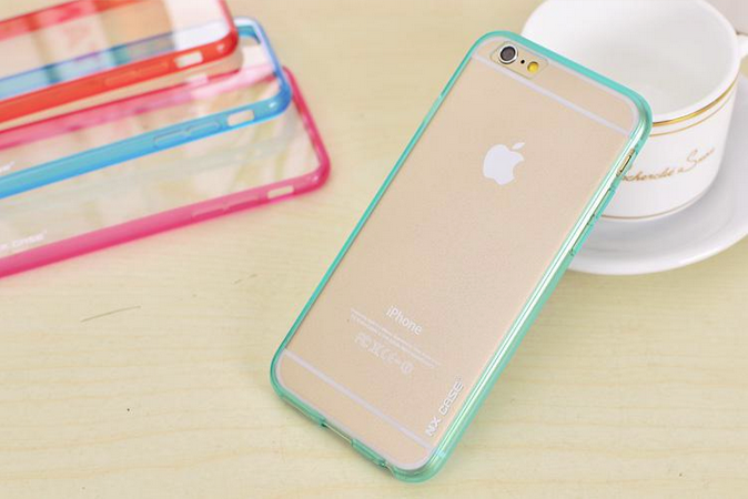 Чехол  NX case ColorTone для iphone 6/6s (зеленый)