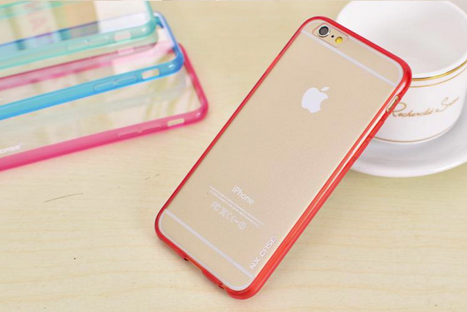 Чехол  NX case ColorTone для iphone 6/6s (красный)