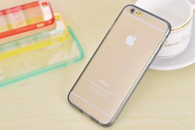Чехол  NX case ColorTone для iphone 6/6s (черный)