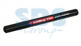 Маркер E-791 эмаль 1-2мм (для печатных плат) чёрный