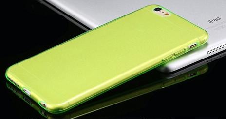 Силиконовый чехол для iphone 6 5.5 (зеленый)