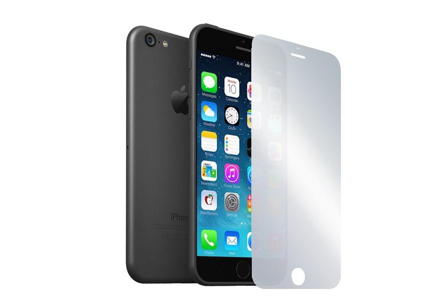Зеркальная пленка на iphone 6 5.5