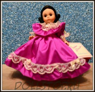 "Коллекционная кукла Мелани 627  из Унесенных ветром от Мадам Александер - Madame Alexander Melanie 627 Gone With the Wind 8"" Doll w/doll stand"