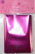Фольга для дизайна №07 Ярко-розовая, Размер - 7 см х 1 м