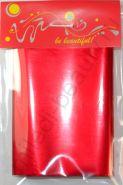 Фольга для дизайна №06 Красная, Размер - 7 см х 1 м