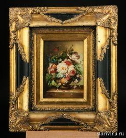 Натюрморт с цветами, масло, Зап. Европа, нач. 20 в