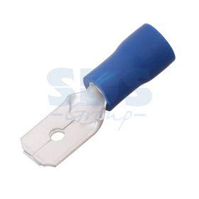 КЛЕММА ПЛОСКАЯ изолированная (КПИ штекер - 6.3мм) 1.5-2.5мм² (VM2-250) REXANT