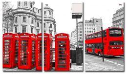 красные телефонные будки