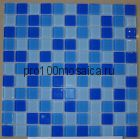 C9031 стекло. Мозаика серия CRYSTAL,  размер, мм: 300*300 (КерамоГраД)