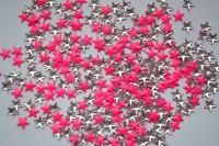 Украшение для ногтей - звезды (50 штук в пакетике) Цвет: розовые