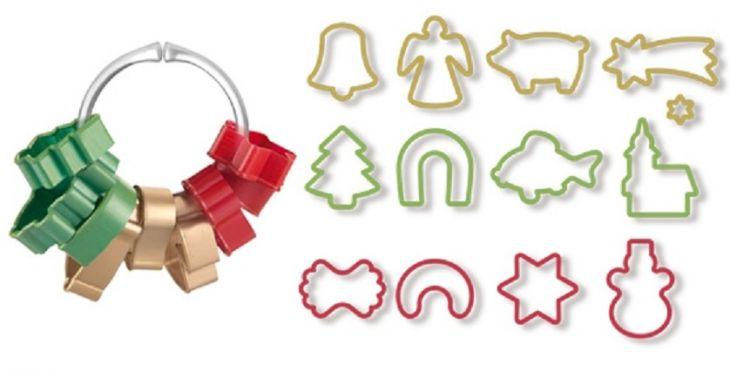 Формочки для рождественского печенья Tescoma 630902