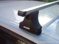 Багажник на крышу Mazda 3 (BK) 2003-09, Атлант, прямоугольные дуги