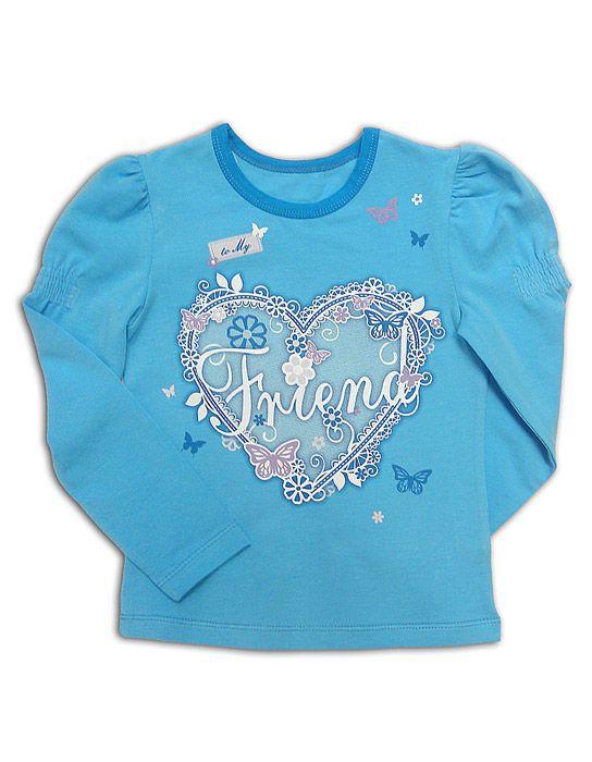 Блуза для девочки Кружева