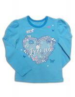 Л143 Блуза для девочки Basia Россия