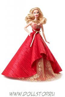 Коллекционная кукла Праздничная Барби 2014 - 2014 Holiday Barbie Doll