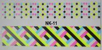 3D-наклейки на клеевой основе для дизайна ногтей, NK-11