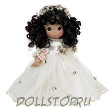 Коллекционная кукла Драгоценные моменты Самая очаровательная  - брюнетка - Lovely as Can Be - Brunette, Precious Moments
