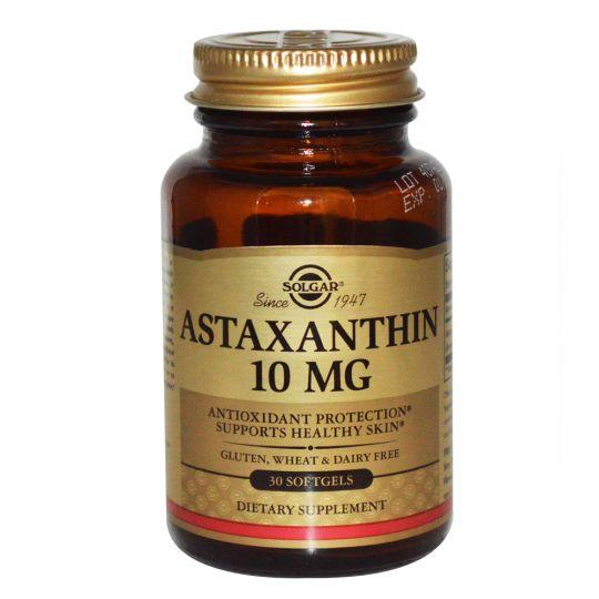 Солгар Астаксантин 10 мг. - 30 капс