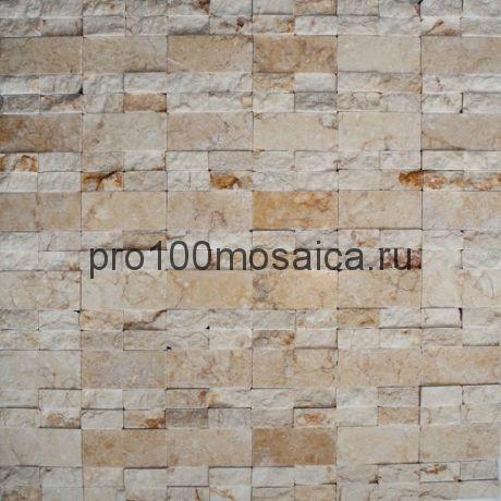 ALS067 Бесшовная Мозаика 3D  Fusion Stone, 300*300 мм (КерамоГраД)