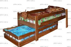 Кровать выкатная Крузенштерн (ВМК Шале)