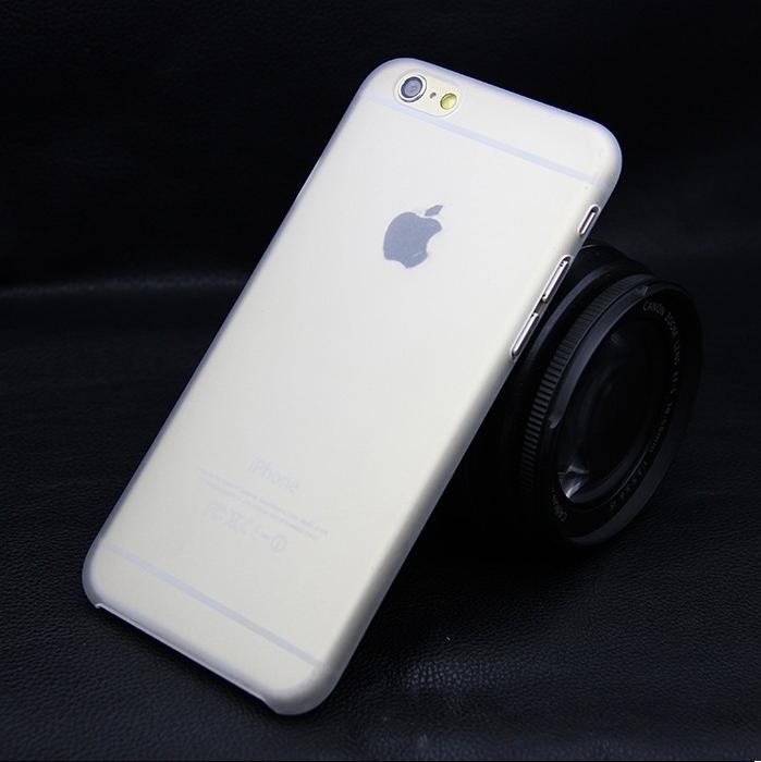 Ультратонкий чехол для iphone 6 (5.5) прозрачный