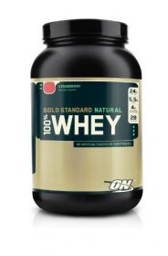 Optimum Nutrition 100% Whey Gold Standard NATURAL (910 гр.)