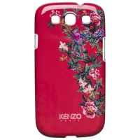 Накладка Kenzo Exotic Cover для Samsung GT-9300 Galaxy S III- Red