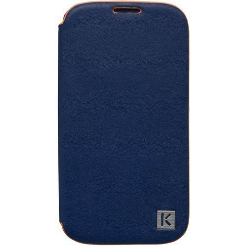Чехол Kenzo Chik Case для Samsung GT-I9500 Galaxy S4 - Blue (кожа)
