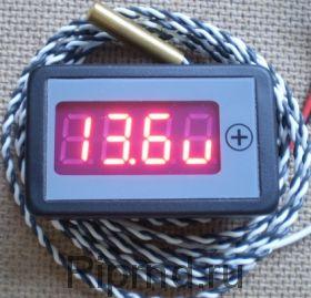 Термометр-вольтметр-тахометр ТВТ-036/4А