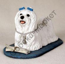Мальтезе статуэтка серии MY DOG